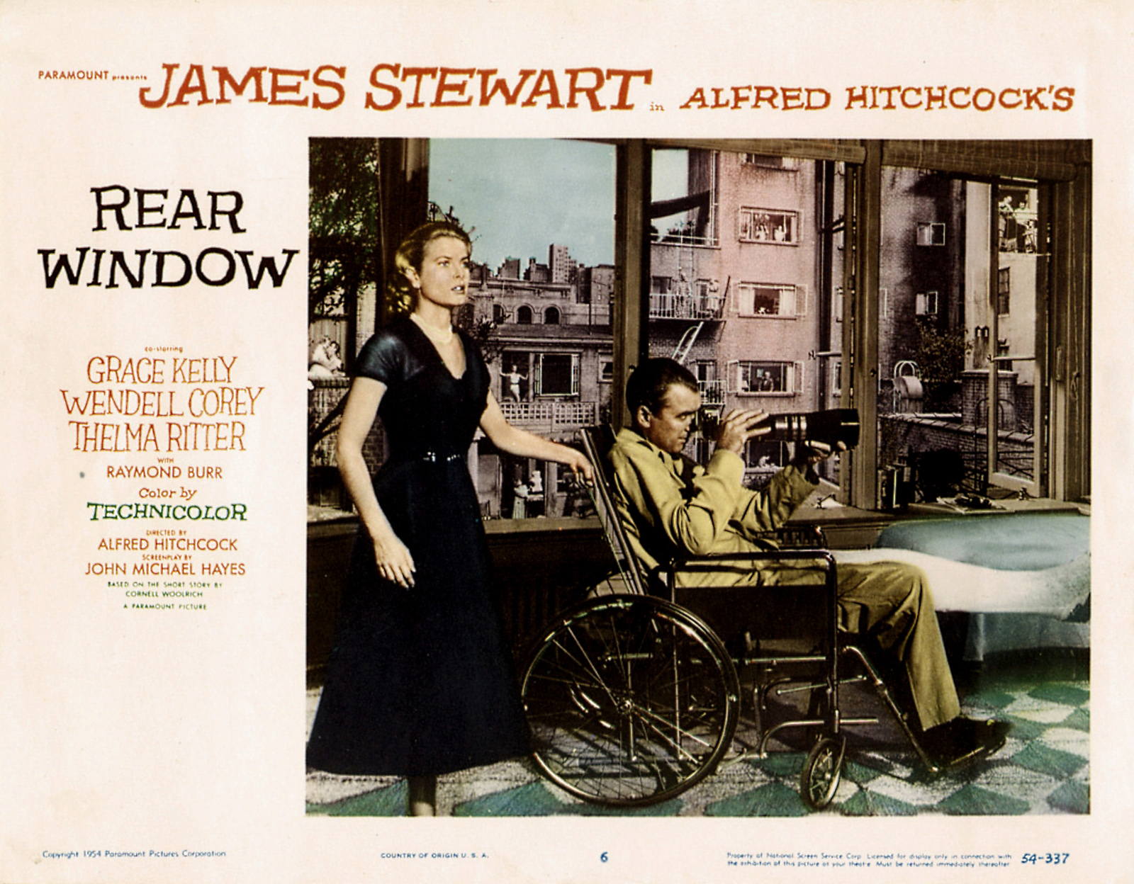 Essays On The Movie Rear Window Ipgprojecom Poster RearWindow