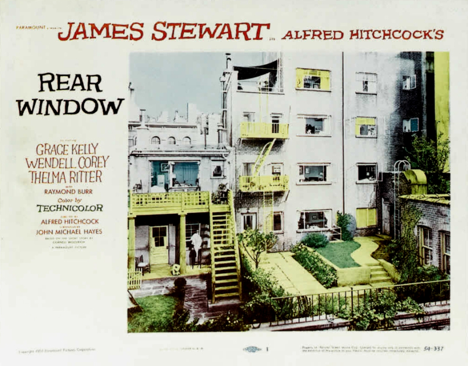 alfred hitchcocks rear window and the crime Alfred hitchcock's apartment trilogy  dial m for murder and rear window  this juxtaposition with horrific crime and the upper-class is quite.