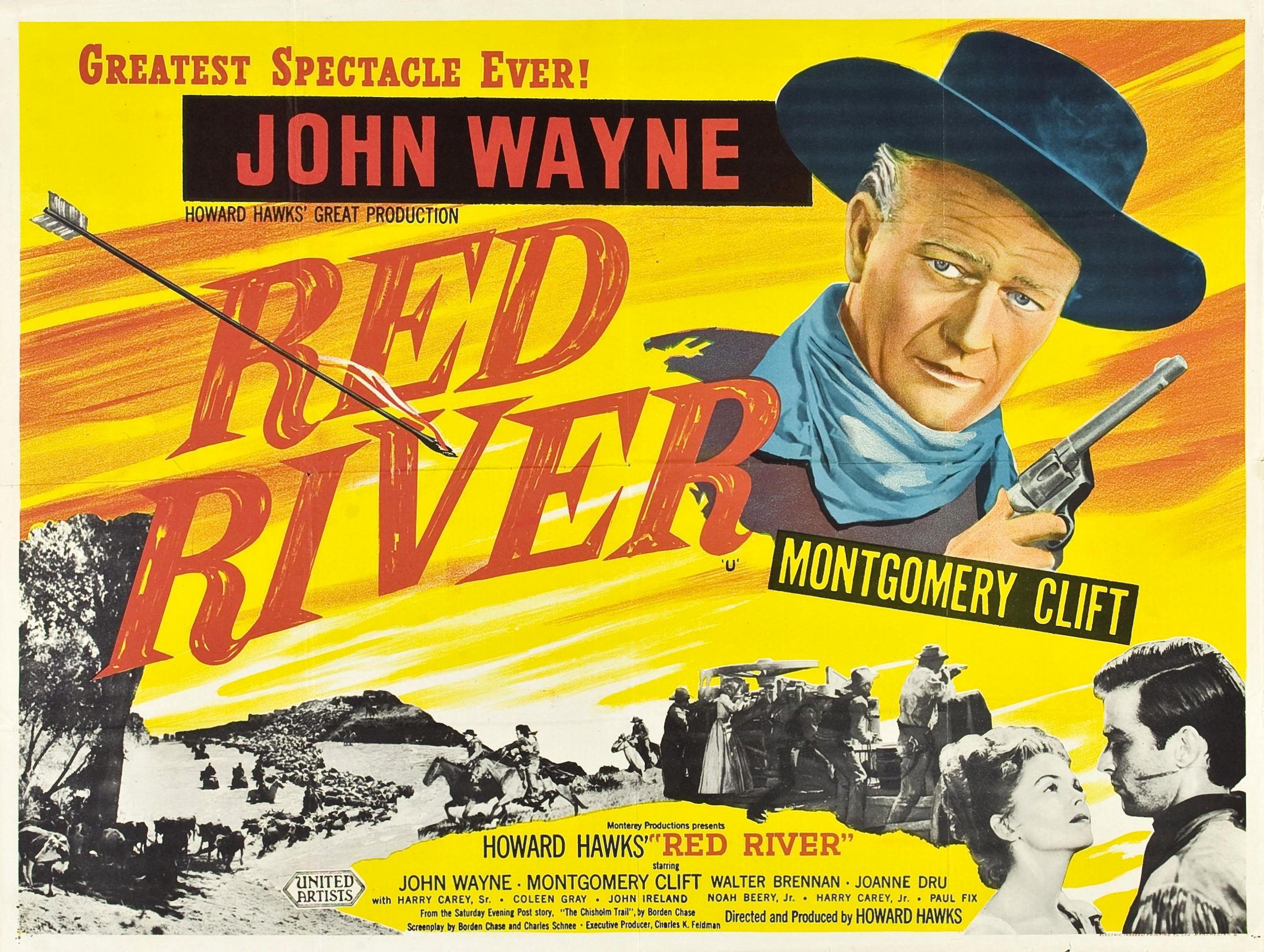 ハワード・ホークス監督の赤い河という映画