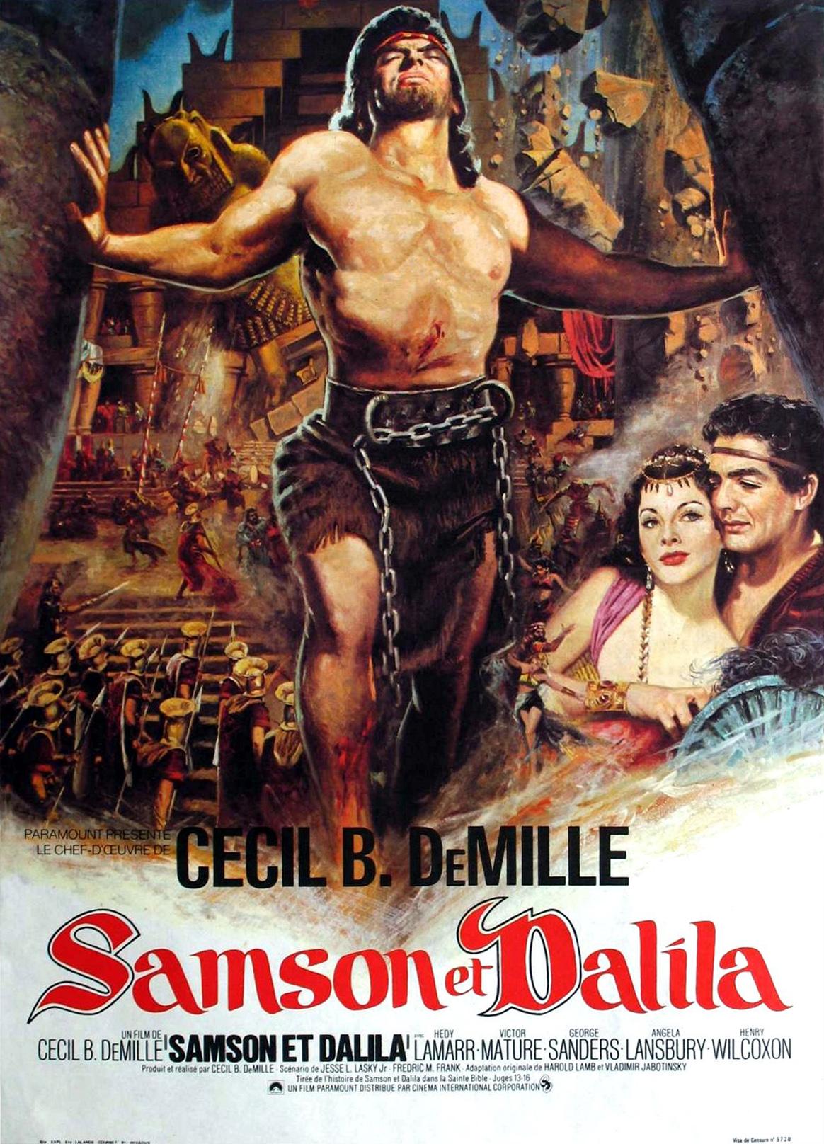samson and delilah 1949