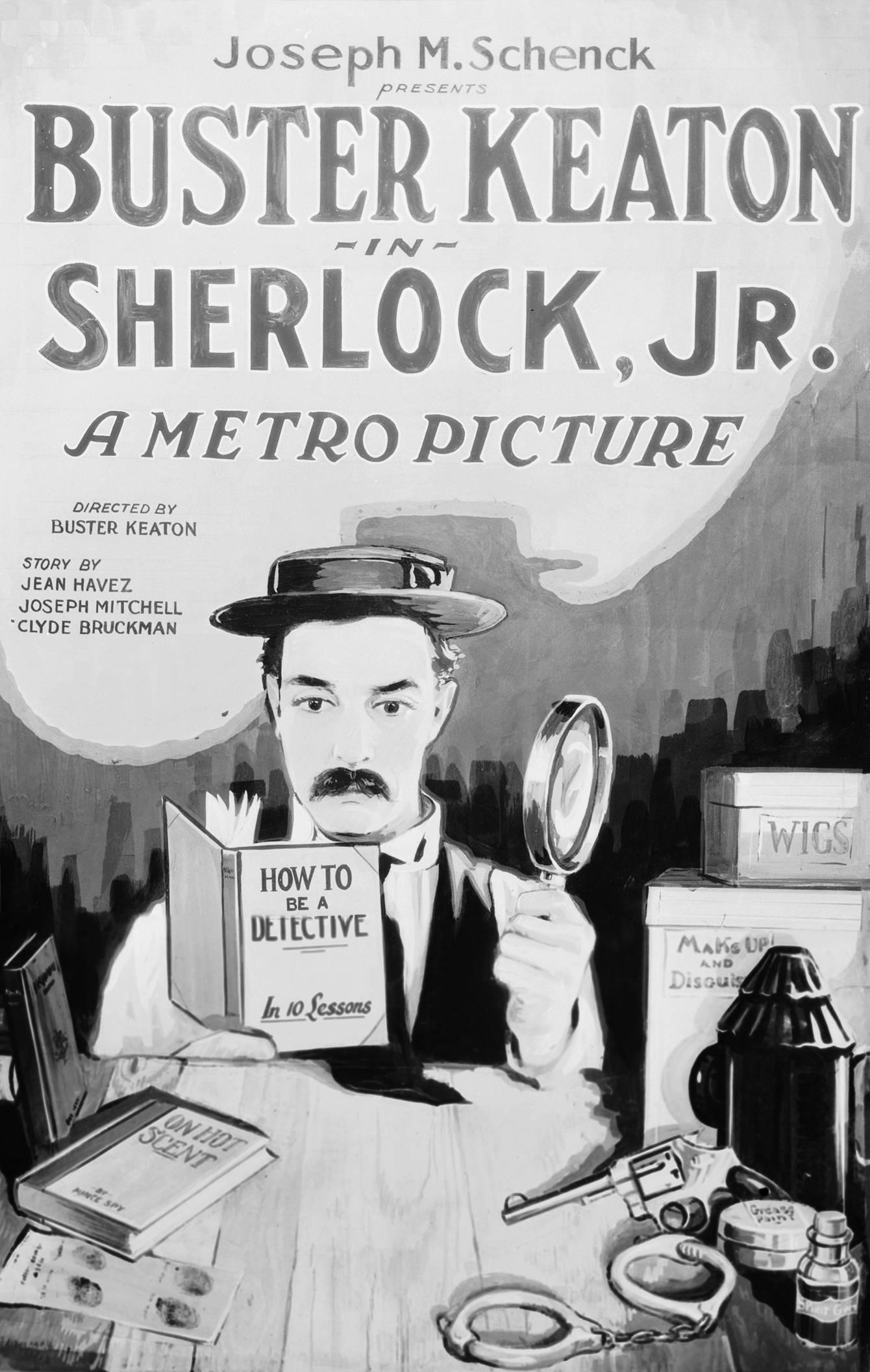 バスター・キートン監督のキートンの探偵学入門という映画