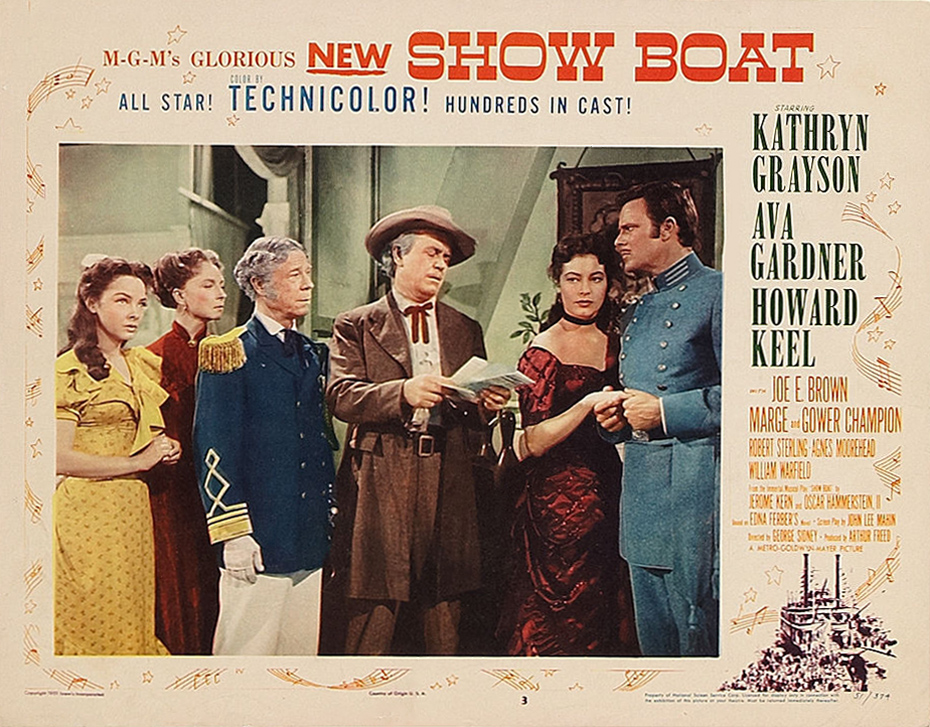 Image result for images of 1951 movie show boat