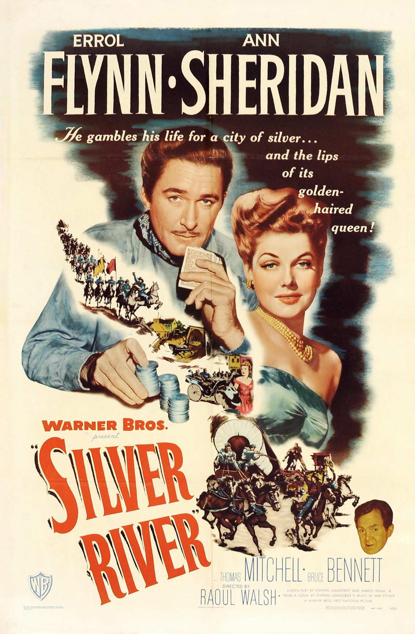Смотреть фильм Серебряная река / Silver River онлайн.