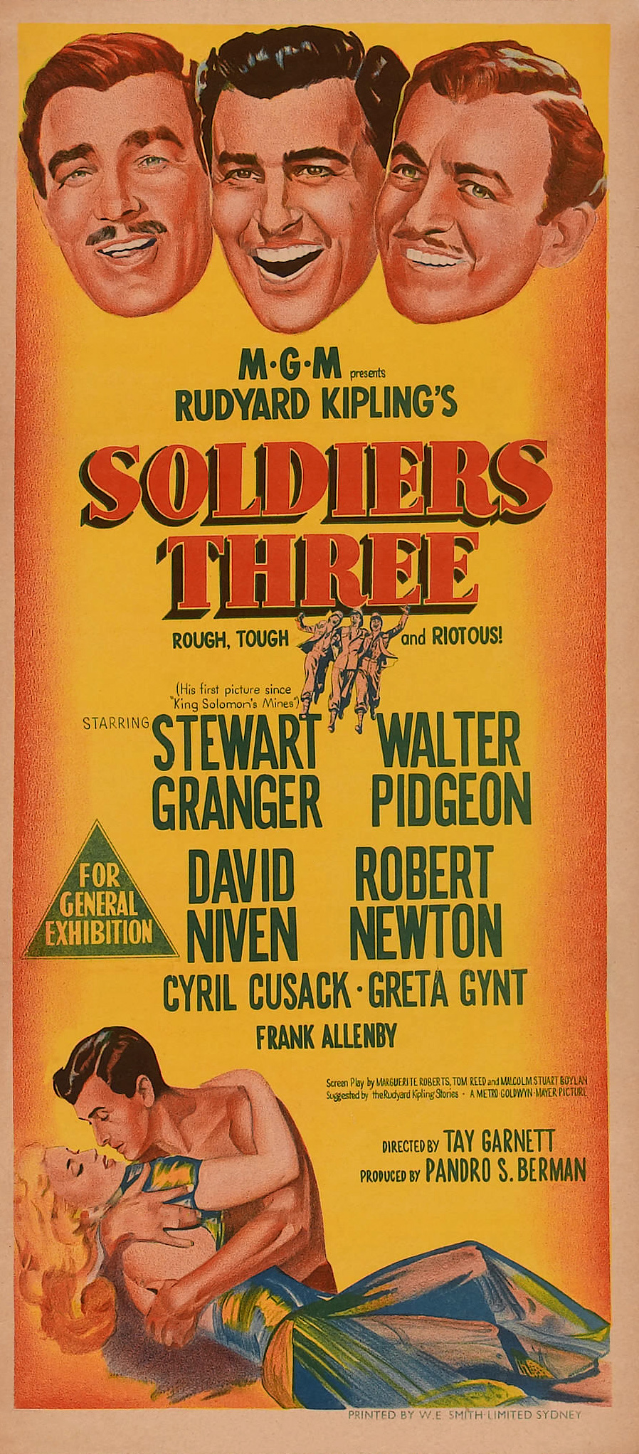 Soldiers Three 1951