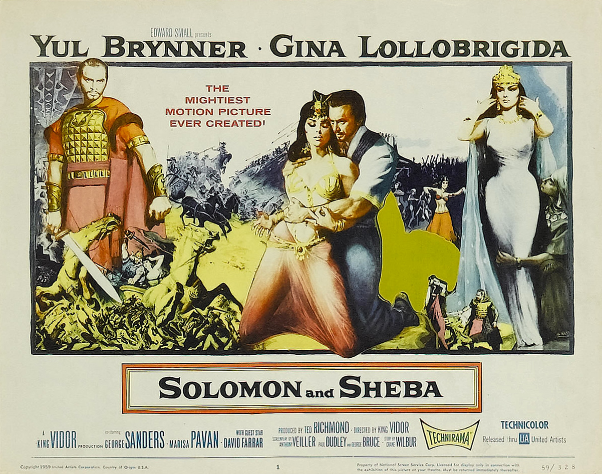 Gina lollobrigida solomon and sheba - 2 part 7