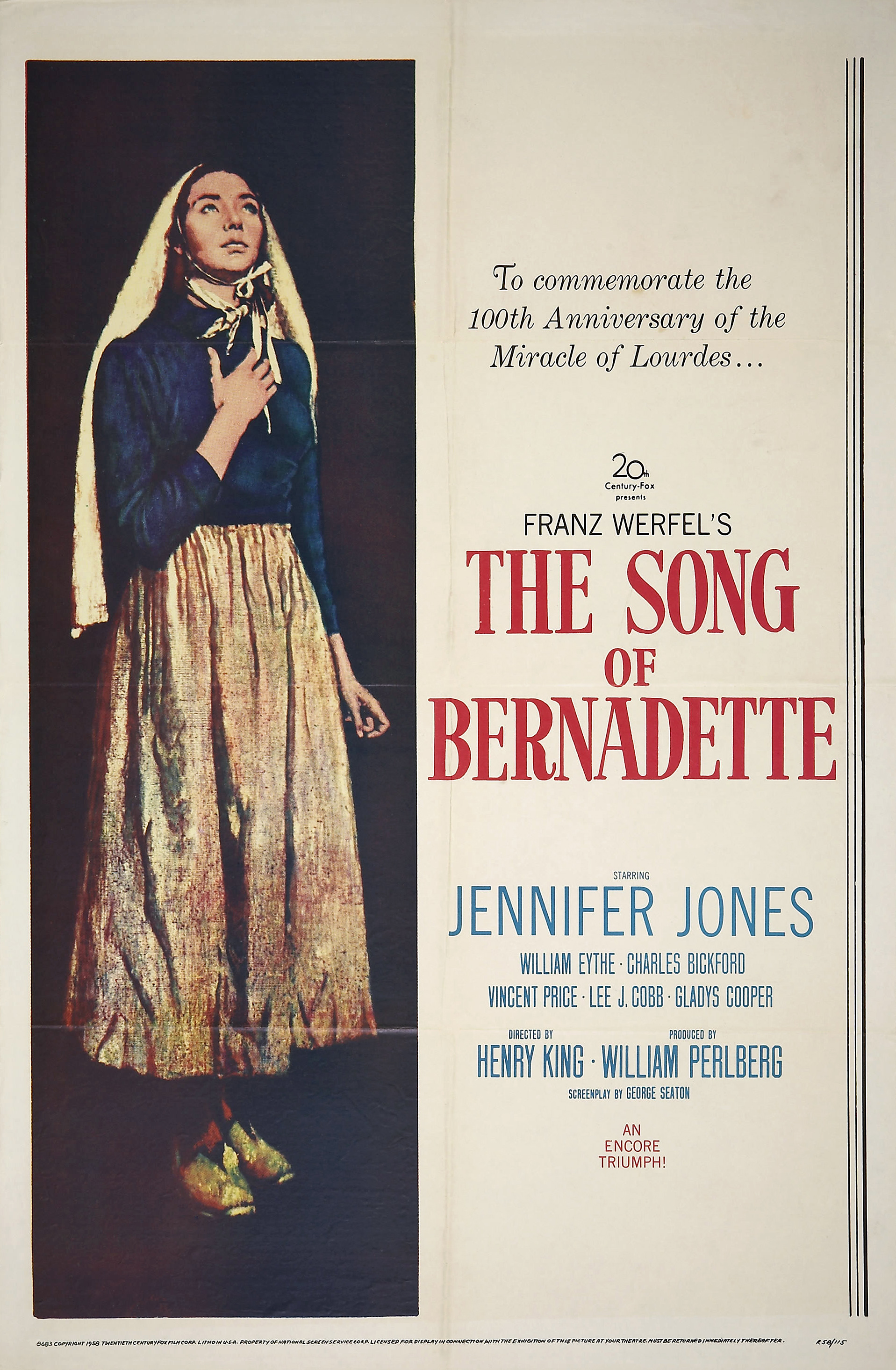 song of bernadette Written by franz werfel, narrated by johanna ward download the app and start listening to the song of bernadette today - free with a 30 day trial keep your.