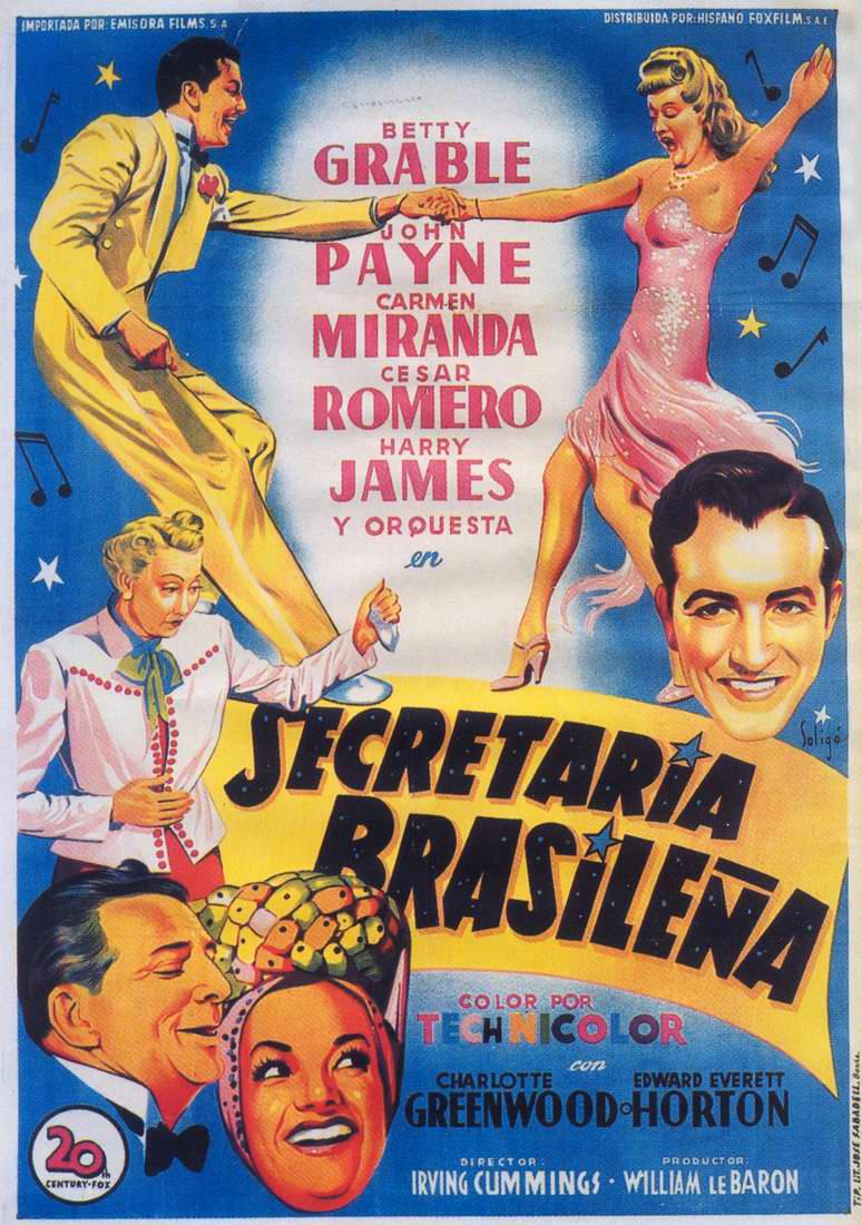 Assistir Filme Minha Secretária Brasileira Online - 1942