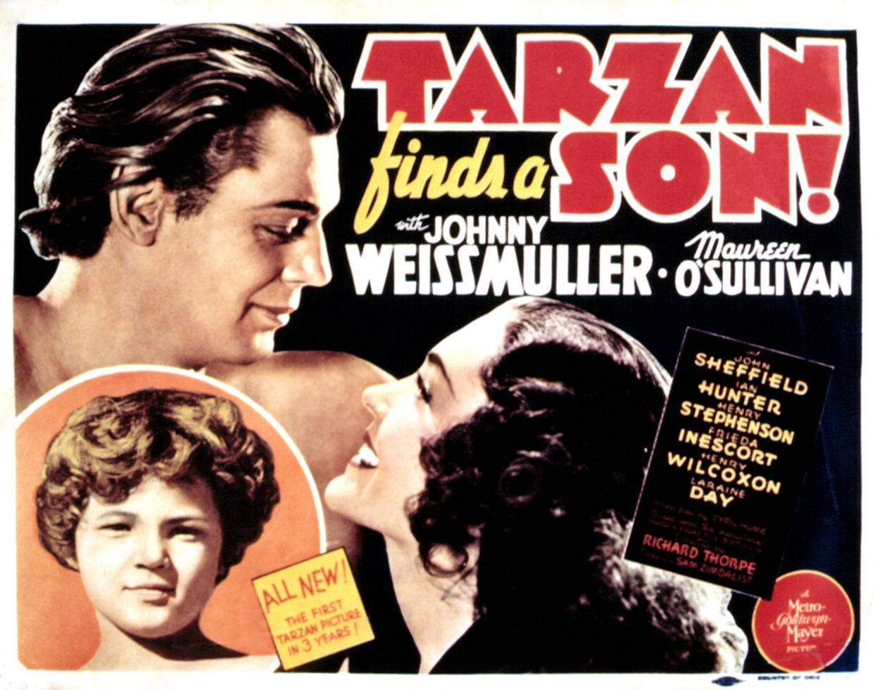 Tarzan finds a son
