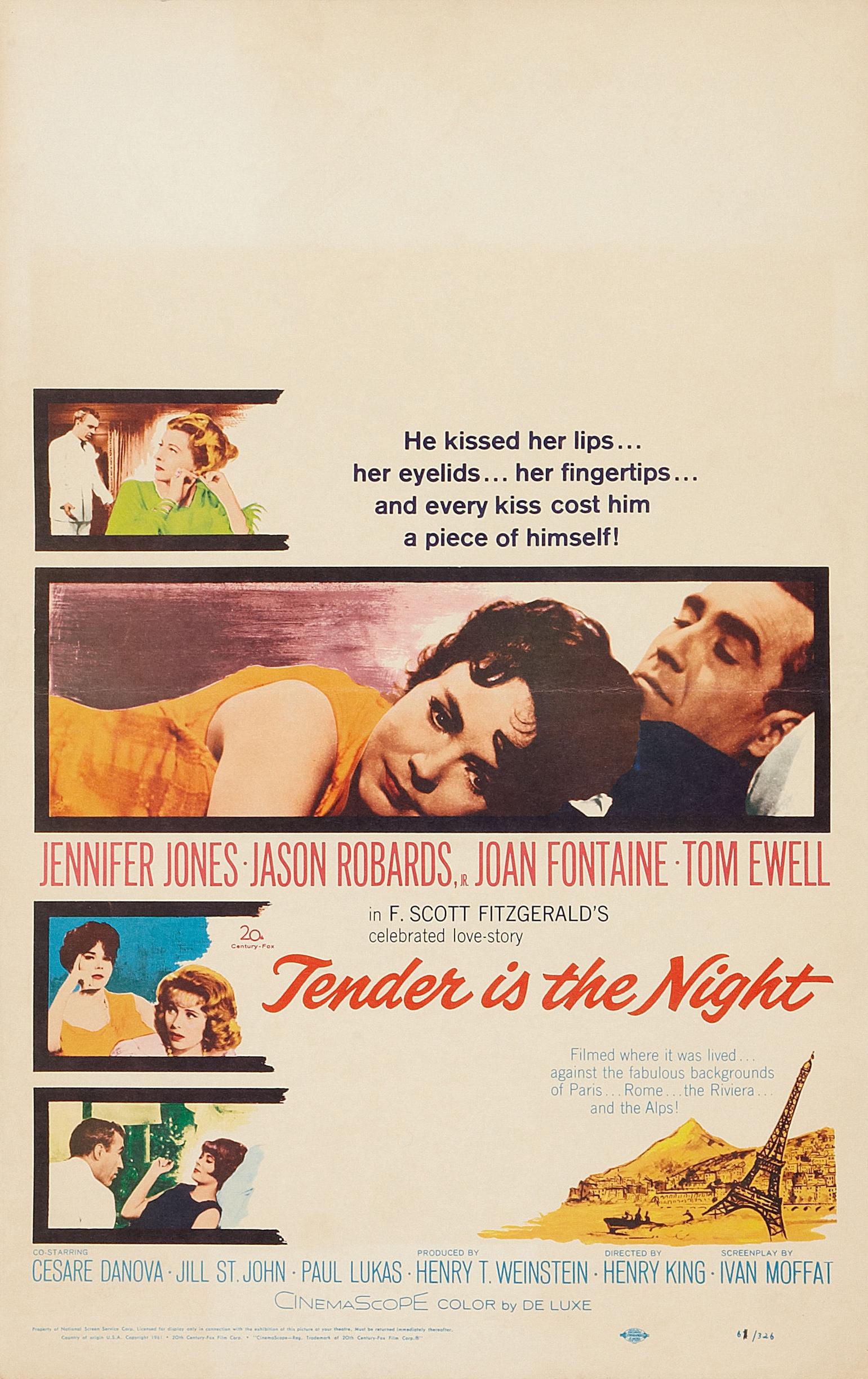 tender is the night  1962