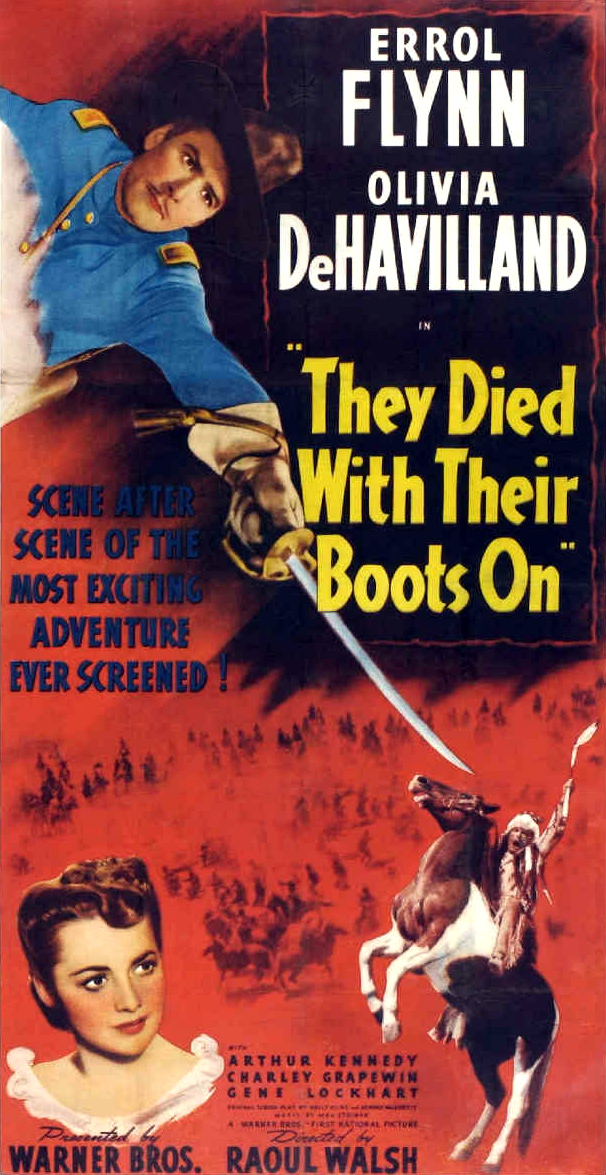 WESTERNS COWBOYS Poster%20-%20They%20Died%20With%20Their%20Boots%20On_07