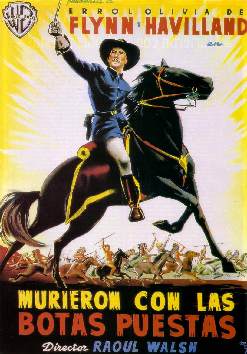 WESTERNS COWBOYS Poster%20-%20They%20Died%20With%20Their%20Boots%20On_10