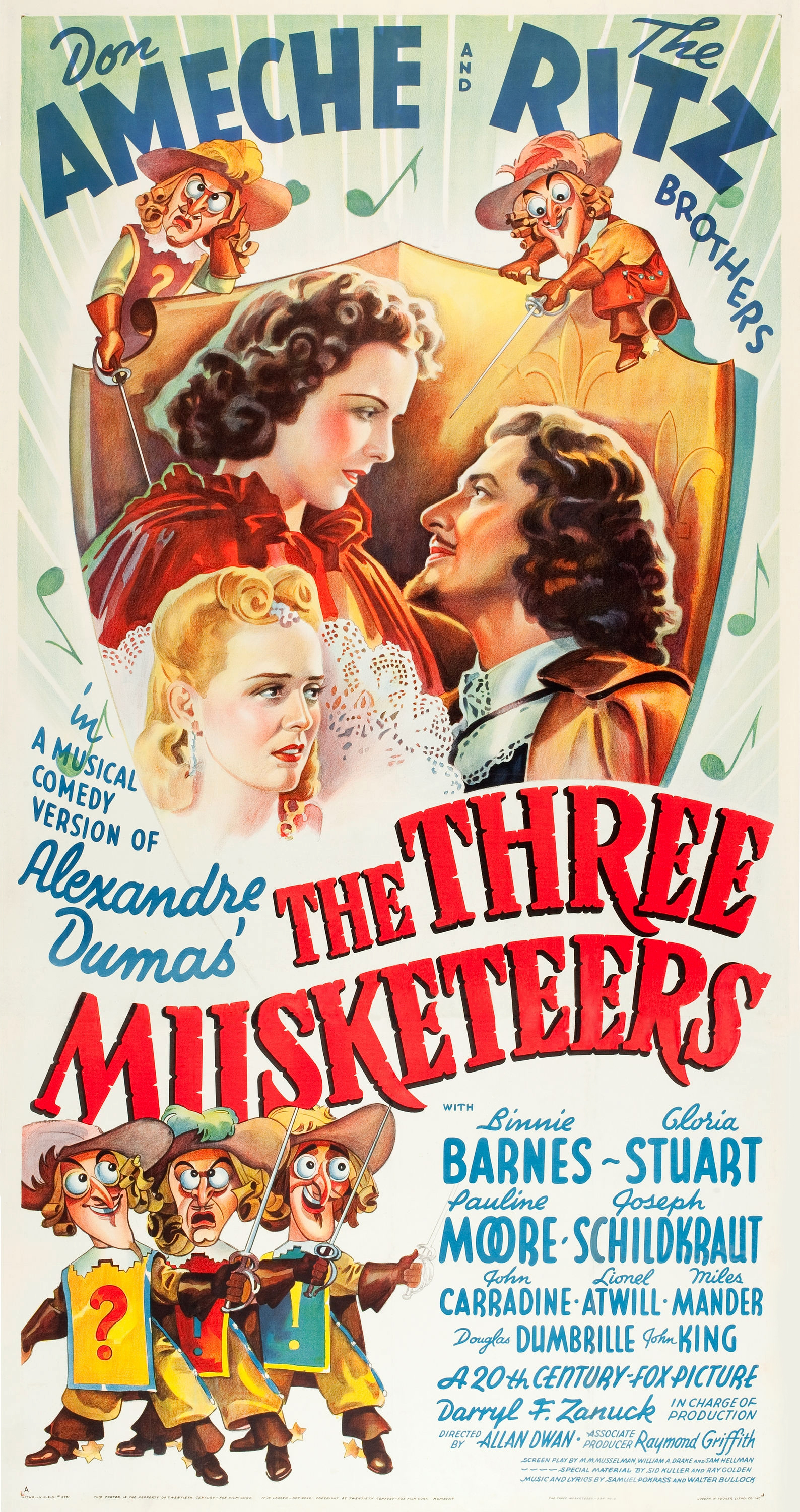 Three Musketeers The 1939