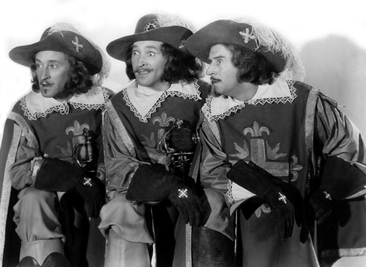 картинки четыре мушкетера чувство