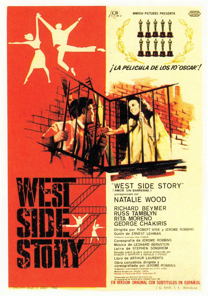 west side story. Black Bedroom Furniture Sets. Home Design Ideas