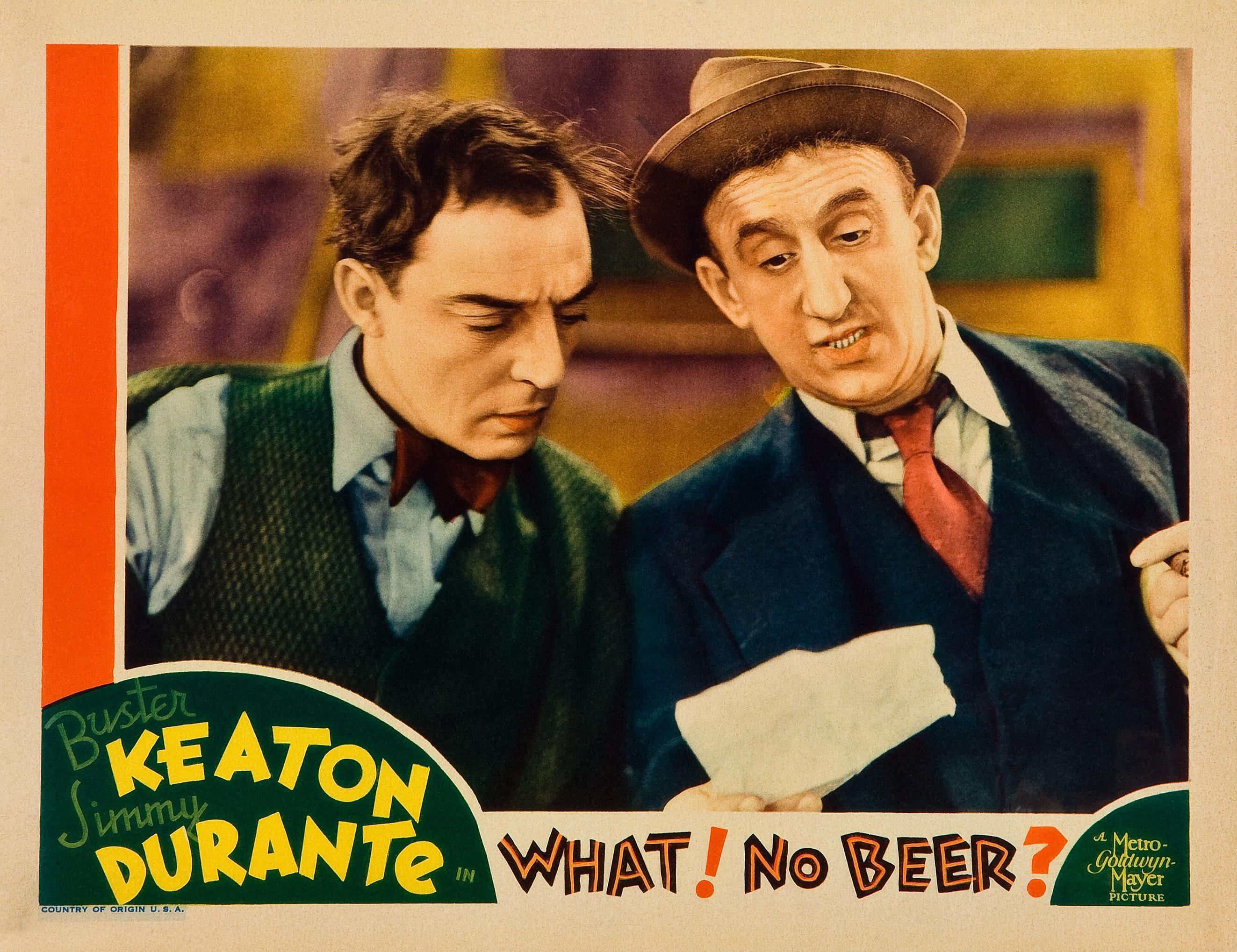 Buster Keaton & Jimmy Durante - Queremos Cerveza | 1933