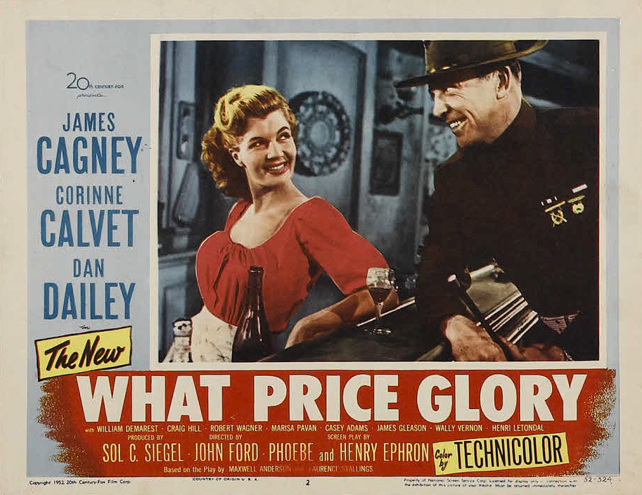 Ray Price Ford >> What Price Glory (1952)