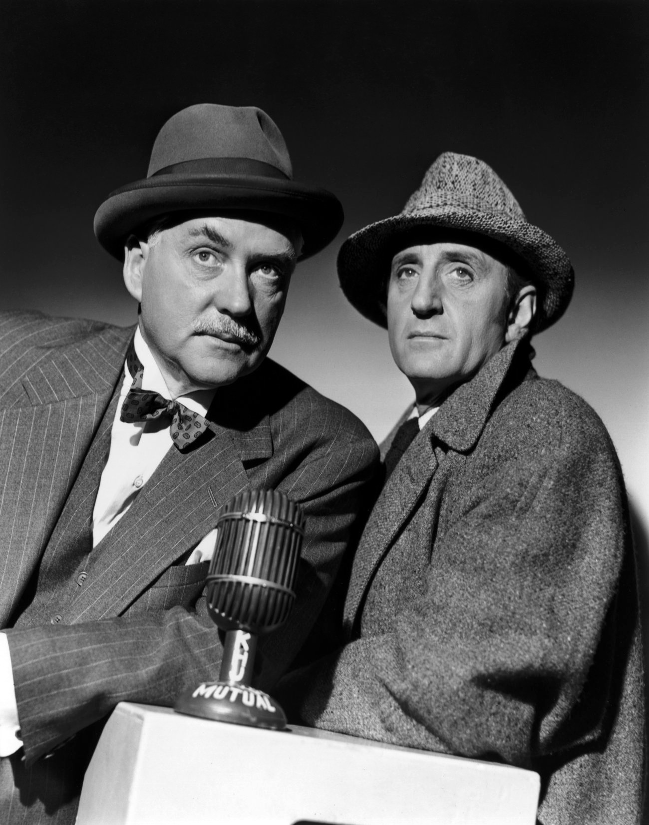 Sherlock Holmes: The Voice of Terror, Starring Basil Rathbone and Nigel Bruce