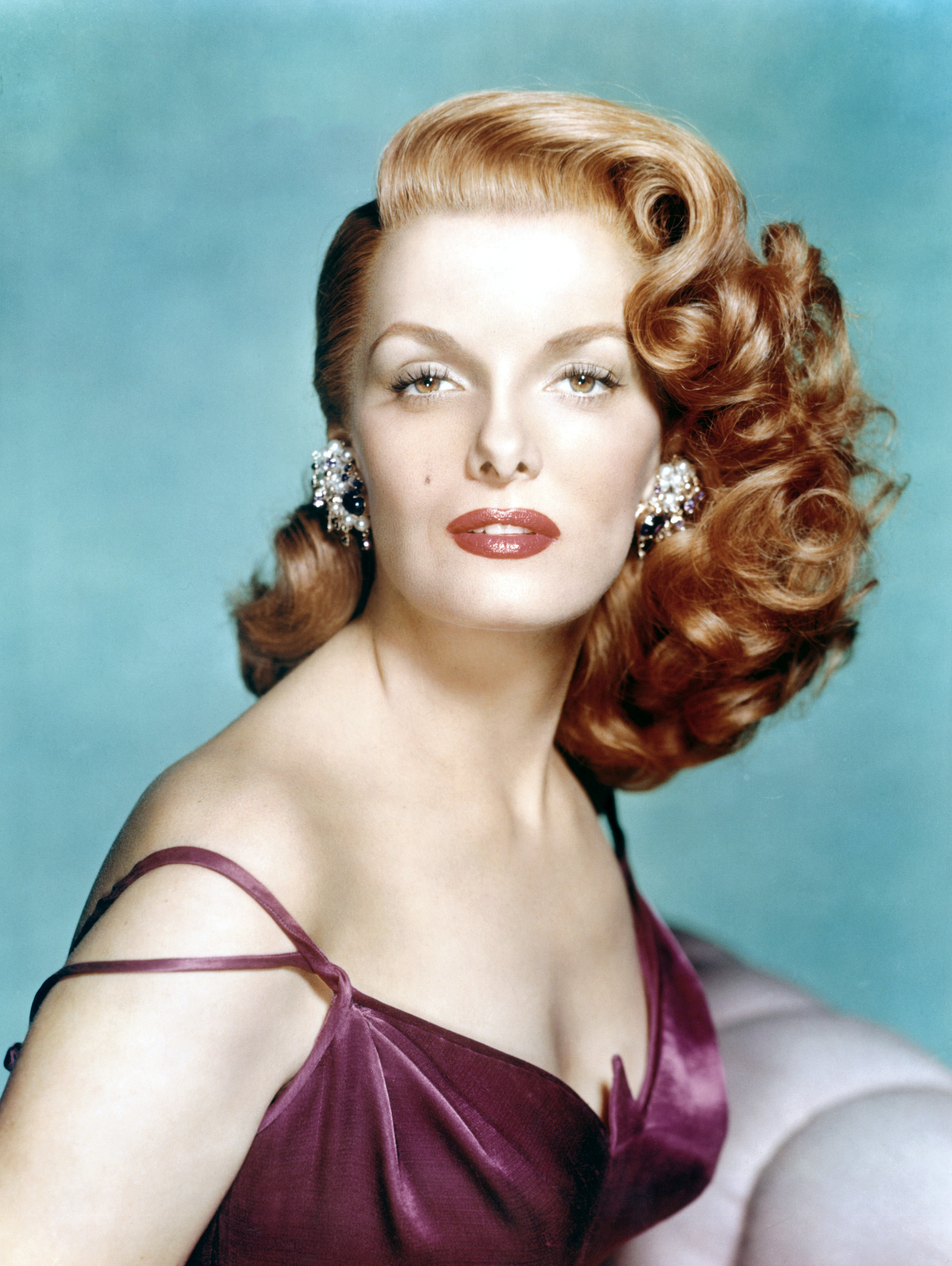pin curls - glamorous hair of the roaring forties : chic vintage