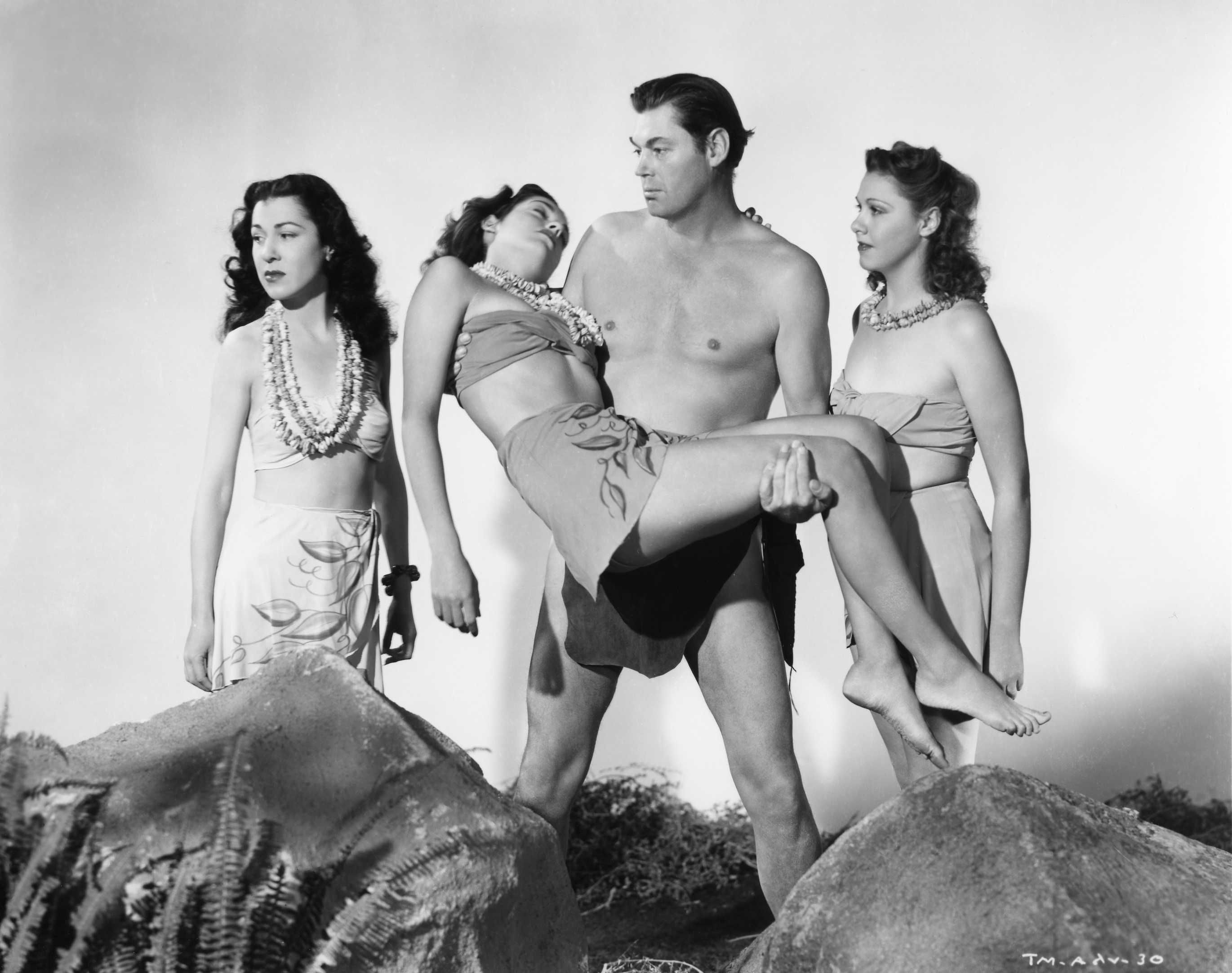 Resultado de imagem para Tarzan and the Mermaids. 1948