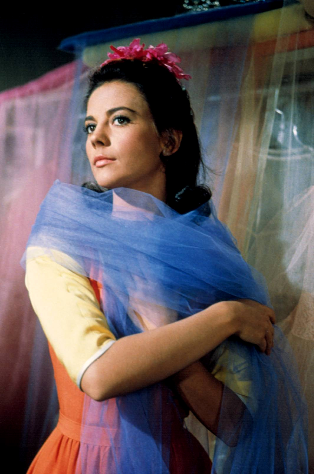 Natalie Wood In West Side Story on oscar movie costumes